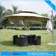 conjunto de mesa e cadeira de móveis ao ar livre