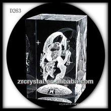 K9 3D Laser Crystal Block with Fairy Inside