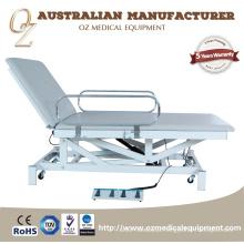 Cama de hospital ajustável da altura elétrica nova do sofá da fisioterapia do CE do exame médico do bom preço do projeto