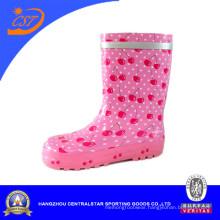 Pink Cherry Girls′ Cute Rain Boots Kr042