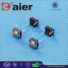 Daier KANF66-HH = 4.3 / 5.0mm IP68 Impermeable Mini 4 pines Interruptor táctil
