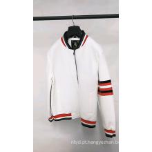 Jaquetas masculinas de couro PU casual personalizadas