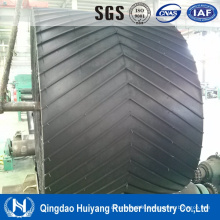 C25 Chevron Cleated Rubber Conveyor Belt