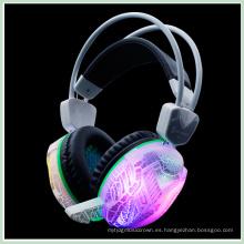 Auriculares para juegos de 3,5 mm LED para PC (K-15)