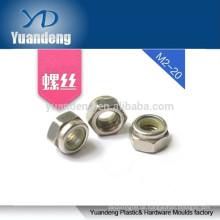 DIN982 5 / 16-24 UNC 2B Zinkbeschichtung Nylon-Sicherungsmuttern