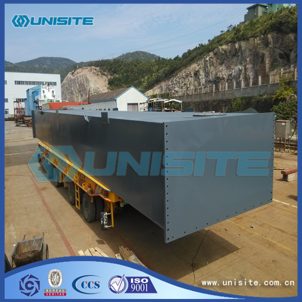 Dredging Steel Floating Boat Pontoon for sale