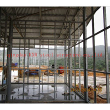 Cadre de maison légère de structure métallique en acier