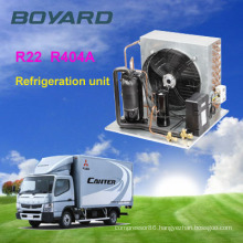 Independent monoblock r404a boyard compressor cold room condensing unit