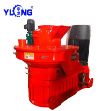 Maquinaria de la prensa de aserrín de madera