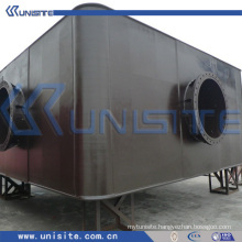 steel pontoon floats for dredging and marine construction(USA-1-001)