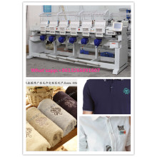 9 and 12 Colors Multi Head Embroidery Machine Wy906c