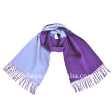 two sides plain scarfs