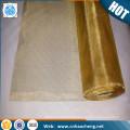 Malla de alambre de latón tejido de malla de gasa de alambre de alambre de latón
