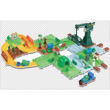 Blocks Game Track Toys Train Series