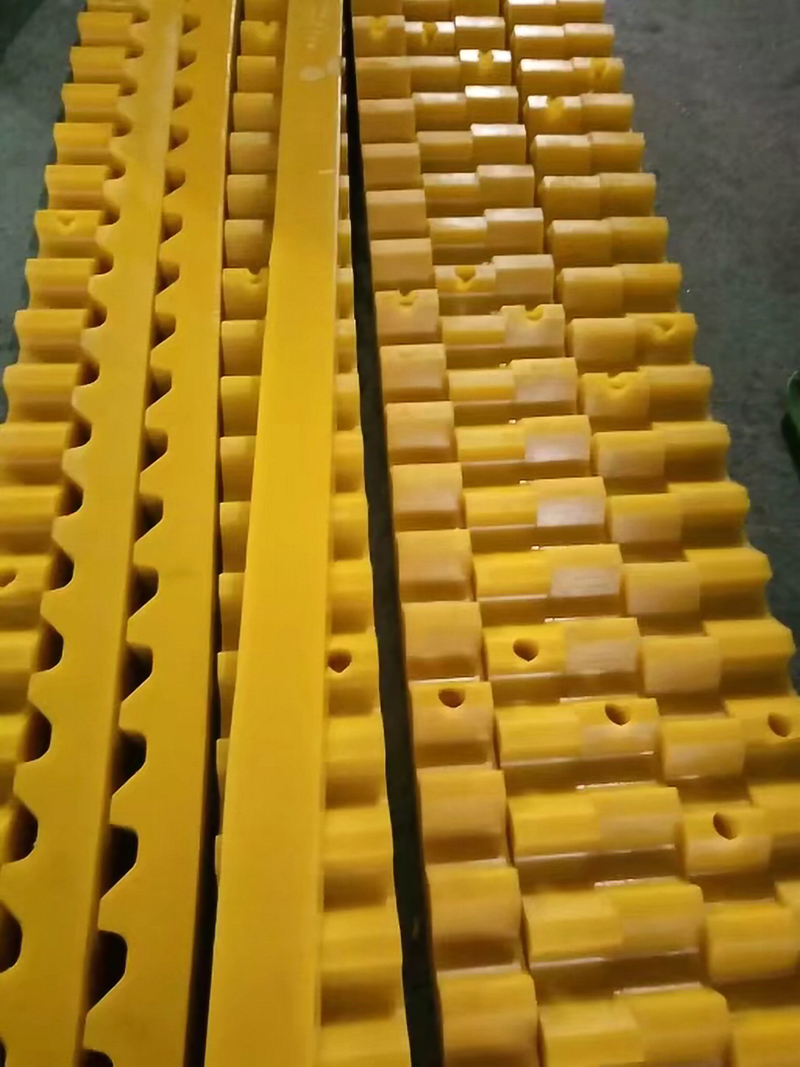 High Wear Resistance Pu Urethane Buffer Block