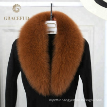 Excellent quality detachable fox fur collars