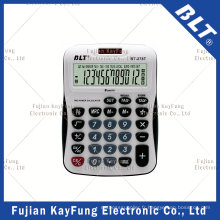 Calculatrice de bureau de fonction fiscale à 12 chiffres pour Office (BT-278T)