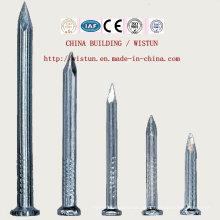 A bobina chinesa dos pregos do ferro prega a bala da arma do prego dos pregos concretos