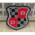 New Design Customized Big Embroidery Woven Patch For Leather Coat