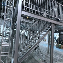 Steel Structure Layer Platform Racking With Stair