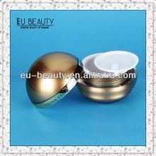 Round 50g acrylic cream ball shape cream jar