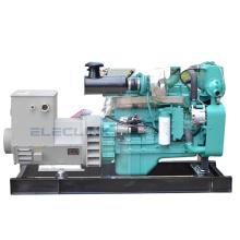 CCS Small Boat Generator 87hp 64kw Marine Diesel Generator Powered By Cumins 6BT5.9-GM83 Hot Sales