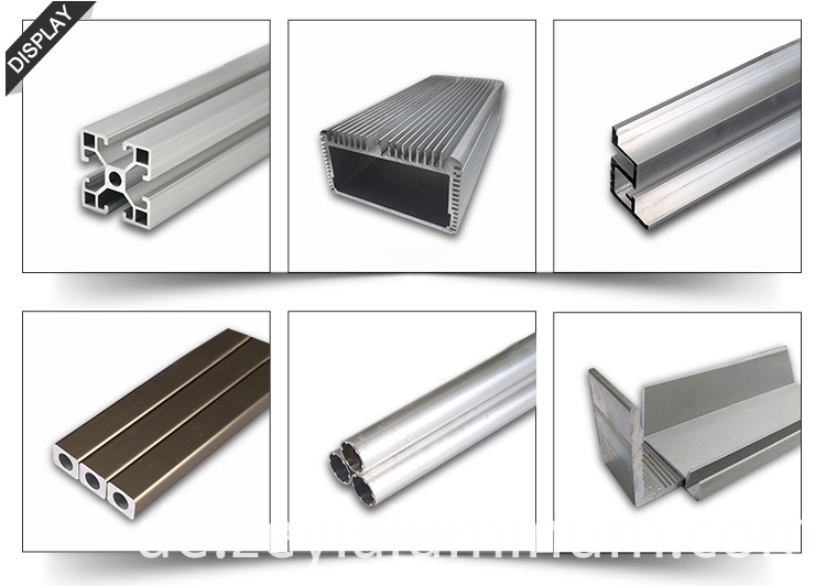 Industrial Aluminum Heat Sink Aluminum Profile