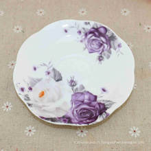 Les plats adaptés aux besoins du client de émail de porcelaine de logo ont émaillé de haute qualité