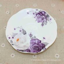 Customized Logo Porcelain Enameled High Quality Melamine Plates