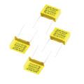 2016 venta caliente amarillo 1.0UF 275VAC X2 condensador de película de polipropileno metalizado Tmcf18-2