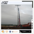 35M High Mast Lighting para diseño de cimientos