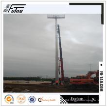 25M Single Face High Mast Lighting Pole