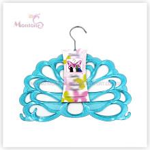 PP Plastic Peacock-Shaped Clothes Hanger (31*31cm)
