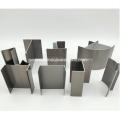 Aluminum profiles for clean room laboratories
