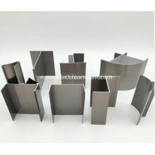 Perfis de alumínio para laboratórios de sala limpa