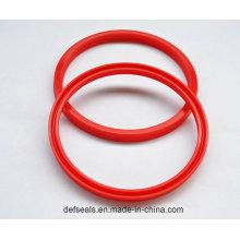 Selo de lábio CNC usinado em poliuretano