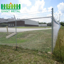 Murah Diamond Cyclone PVC Chain Link Fence