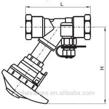 PN16 Válvula reguladora dupla