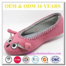 Dashing eye-catching warm animal cartoon slippers