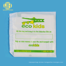 Charity bag wholesaler for kids textile recycling