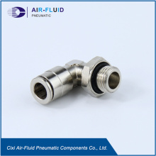 Air- Fluid Push in Fittings Swivel  Elbow
