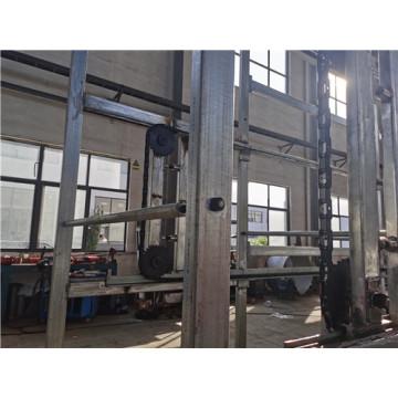 Fundición de inversión del sistema de secado de la línea de secado de conchas