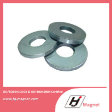 Alta potência forte neodímio N35-52 anel ímã com ISO9001 Ts16949