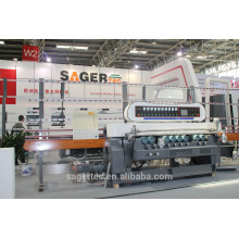 china manufacturer supply glass beveling machine with 9 wheels