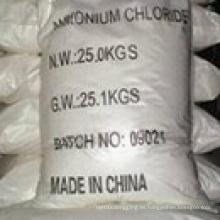 White Powder 99.5% Ammonium Chloride (No. CAS: 12125-02-9) para la categoría de la agricultura