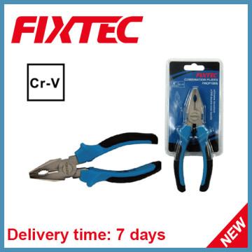 Плоскогубцы с ручным управлением Fixtec с ручкой TPR