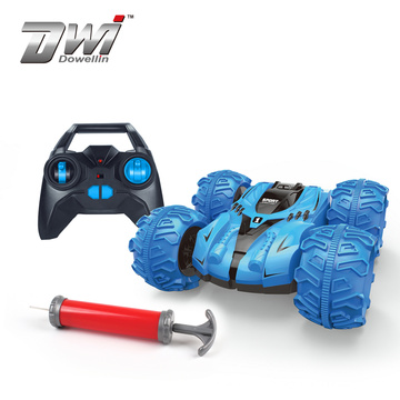 DWI 2019 Stunt RC Car for Kids Double Sided 360 Rolling Rotating Rotation Truck With 3D Deformation Car Toy