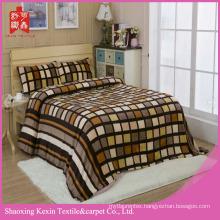 super soft flannel coral fleece blanket bedding set