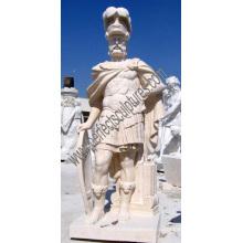 Escultura de mármore da escultura para a estátua cinzelada da pedra do jardim (SY-X1594)