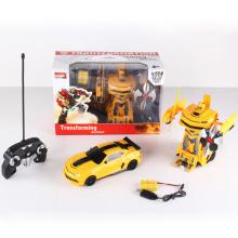 Controle remoto de rádio transformar brinquedo do carro robô (h3386157)